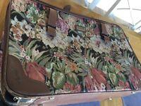 Shilton flower suitcase