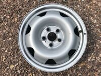 """Genuine 17"""" VW Transporter T6 Steel Wheel Single Spare Great Condition Sets of Four Available"""