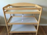 Like new changing table
