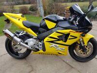 2003 Honda CBR954 Fireblade RR3 Yellow