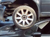 vw bora alloys 16' with tyres