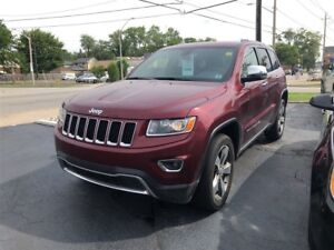 2016 Jeep Grand Cherokee Limited- SUNROOF, REMOTE STARTER, REAR
