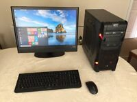 Desktop High Performance PC system with HD graphics and Windows 10 - See full spec below...