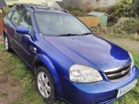 Chevrolet Estate, 05, Brand New MOT