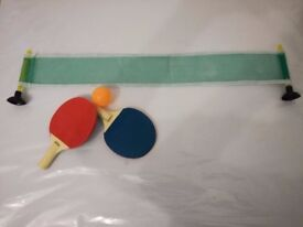 Indoor Mini Desk Ping Pong Table Tennis Set (great gift for kids)