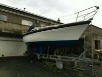 Lovely 28 ft colvic contess boat