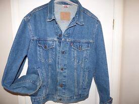 Classic Blue Levi Jacket, large.