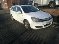 2005 (54 reg), Vauxhall Astra Estate, 1.7 CDTi 16v Club 5dr, £1,195 p/x welcome