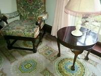 OLD TRADITIONAL ARM CHAIRS ERCOL/ PRIORY