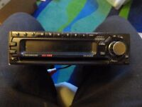 Clarion Car stereo and CD system