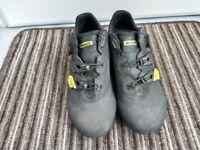 Mavic cosmic elite vision cm road cycling shoes size UK10