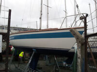 Westerly GK24 Fin Keel Sailing boat for sale. An easy boat to sail with good speed and handling.