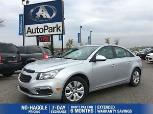2016 Chevrolet Cruze LT 1LT | Remote Start | Sunroof | Bluetooth
