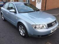 **P/X TO CLEAR**2002 AUDI A4 TDI SE 4 DOOR SALOON 1.9 DIESEL SERVICE HISTORY COME WITH 12 MONTHS MOT