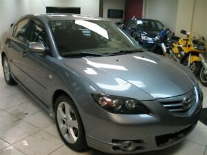2005 Mazda Mazda3 GT!AUTO!LOADED!FULLY CERTIFIED@NO EXTRA CHARGE