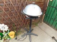 electric lean machine bbq on or off the stand