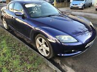 Mazda RX-8 192ps 2616cc Petrol 5 speed manual 4 door coupe 06 Plate 30/06/2006 Blue