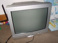 BUSH large (old style) TV works perfectly!