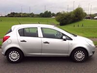 VAUXHALL CORSA 1.3 DIESEL ECOFLEX,HPI CLEAR,1 OWNER,A/C,£30 ROAD TAX,1 YEAR M.O.T,LOW MILES,8 SRVCS