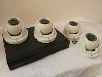 8CH HDMI 1080P DVR + 4 1080P CAMERAS Outdoor CCTV Video Security Camera System