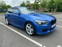 BMW, 1 SERIES, 2012, Auto, 5 doors with number plate valued at £1100