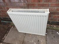60x60 white radiator central heating in good condition