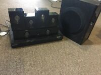 Speakers With Subwoofer Samsung And DVD