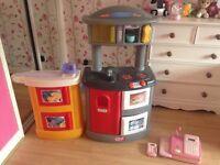 Kids kitchen and accessories