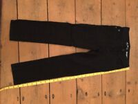 Children's Skinny Black Jeans -7 year old