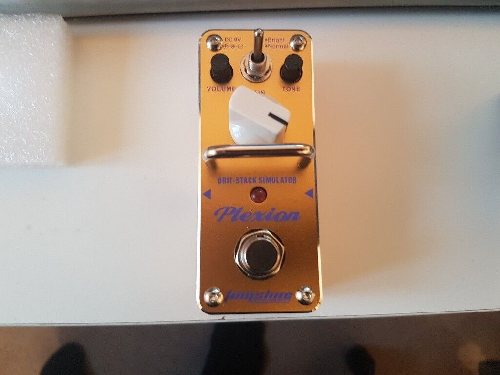 Tomsline Plexion Distortion Guitar Pedal - New in box