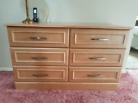 MONTREAL 6 DRAWER CHEST FROM GLASWELLS