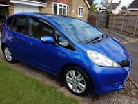 2011 (61) HONDA JAZZ 1.4 EX CVT AUTOMATIC PAN ROOF ...F.S.History..REDUCED !!!