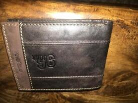 Leather wallet x 2