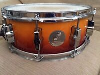 """Sonor Force 3005 Full Maple Snare Drum 14x5.5"""" 10 Lug"""