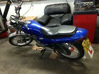 Wuyang WY 125-16c motor bike, Honda cg engine £500 but price negotiable
