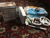 Wii console,16 games and accessories