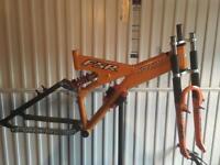 Specialized FSR frame and RST 281 Triple Clamp Forks