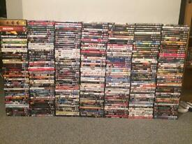 DVDs over 330 all original