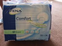 Tena Comfort Super Pads - Pack of 36