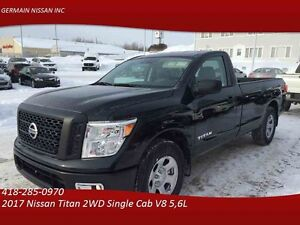 2017 Nissan Titan 2WD Single Cab S-BLUETTOTH-CRUISE-BOITE DE 8 P