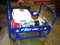 Honda Pramac Blue Gensets E5000 Generator Brand New - 1 Hour Use!!