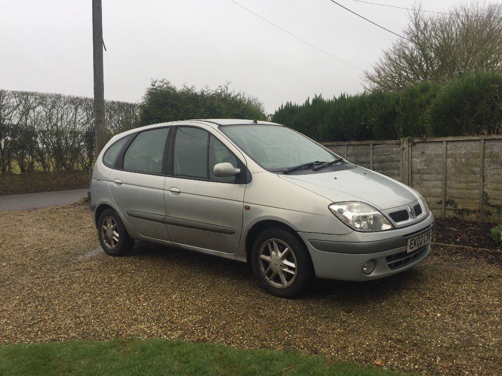 renault scenic fidji model 2002 one owner from new in colchester essex gumtree. Black Bedroom Furniture Sets. Home Design Ideas