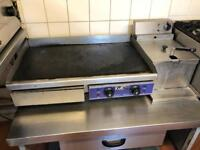 Catering electric griddle