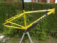 Lovely Classic Kona Nunu Aluminium Mountain Bike Frame Small