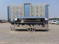 New Airstream Mobile Catering Trailer Burger Van Pizza Trailer 5500x2000x2300
