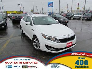 2012 Kia Optima EX | LEATHER | ALLOYS | BACKUP CAM