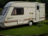 2 berth jubille touring caravan