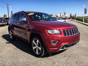 2014 Jeep Grand Cherokee Overland|Leather|Nav|Adaptive Cruise Co