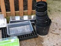 Propergators large to medium plant pots and cell trays