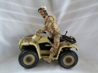 Army Vehicles & Figures + Action Men & Vehicles